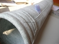 Polyester Scrim Antistatic Filter Bags Cement Plant Needle Felt