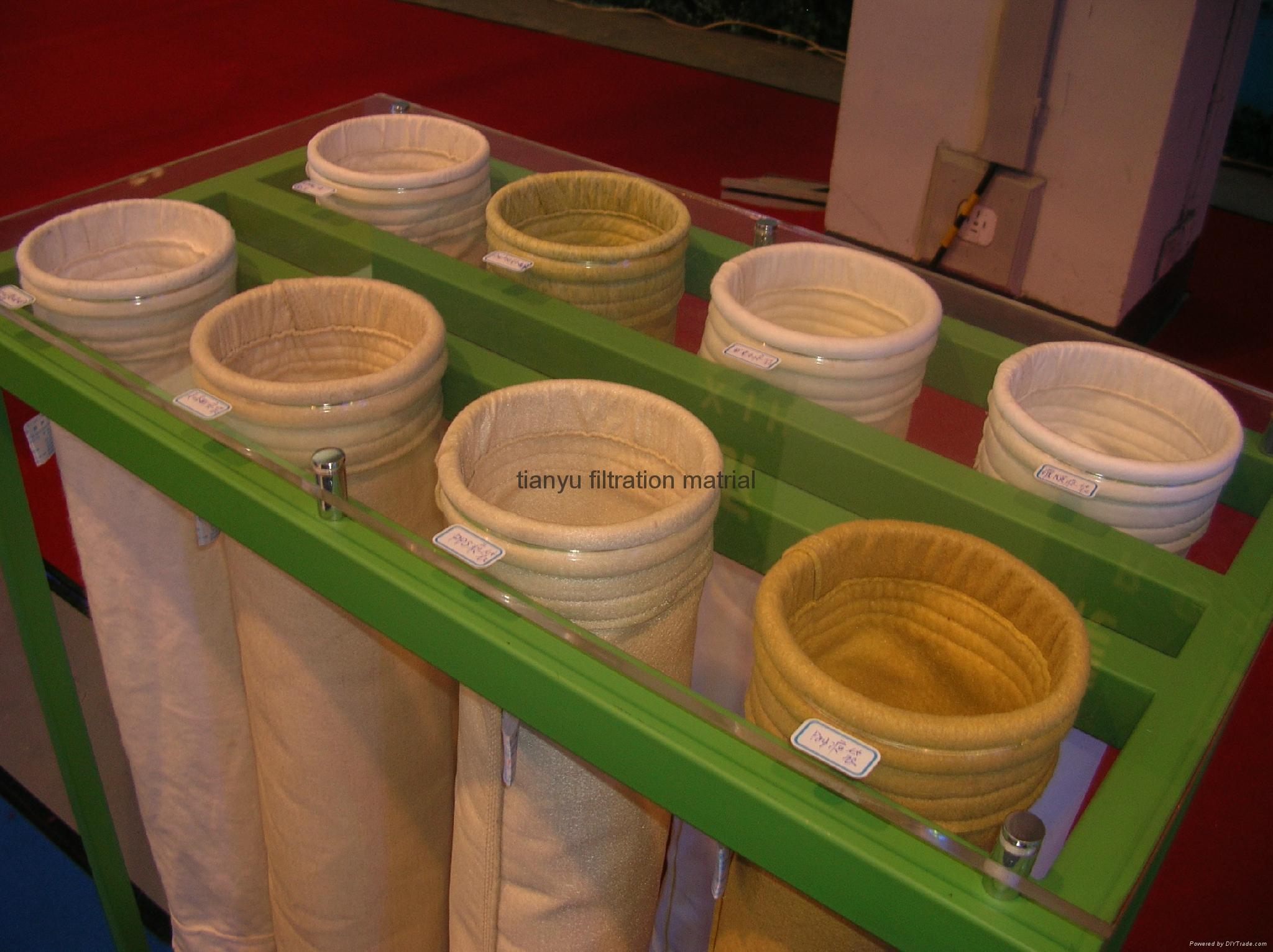 Polyester Membrane Dust Collector Needle Felt Filter Cartridge 2