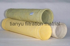 Dust Collection Fabric And Bags In Cement Polyester Aramid