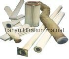 Dust collector filter bags PPS/Aramid/PTFE/ Glassfiber filter media