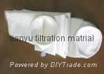 Polyester with ptfe membrane dust filter bag 2