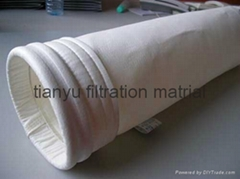 Polyester with ptfe membrane dust filter bag