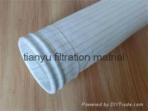 Polyester antistatic dust  filter bag 1