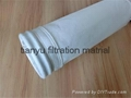Polyester filter bag water and oil
