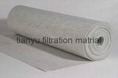 polyester needle felt filter bag for cement