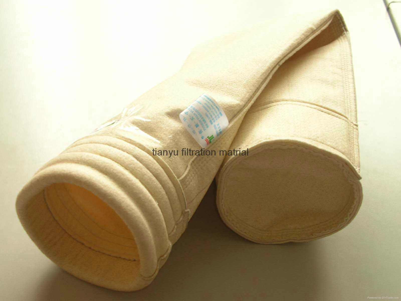 China Supplier Dust Filtration Bag Aramid Nomex Filter Bag 2