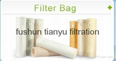 Good quality chemical stability fiberglass p84 compound FMS dust filter cloth fe
