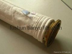 PTFE bag filter/Teflon pulse jet bag For Carbide Furnace