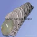 NOF Supplier Black woven Fiberglass dust