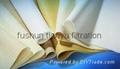 High-density surface needled felt filter