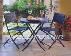KD outdoor wicker/rattan coffee table sets
