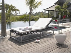 outdoor wicker/rattan sofa chair(WF-7338)