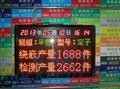 供應科辰大型點陣數碼生產電子看板 1