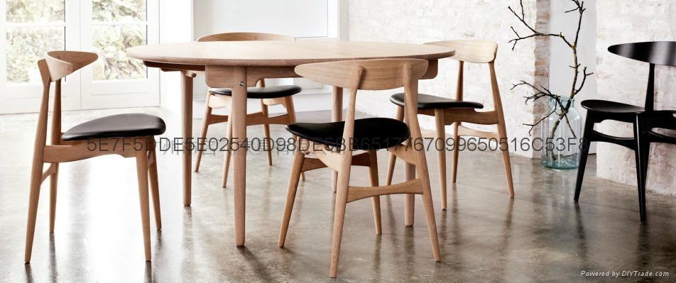 牛角實木餐椅 5