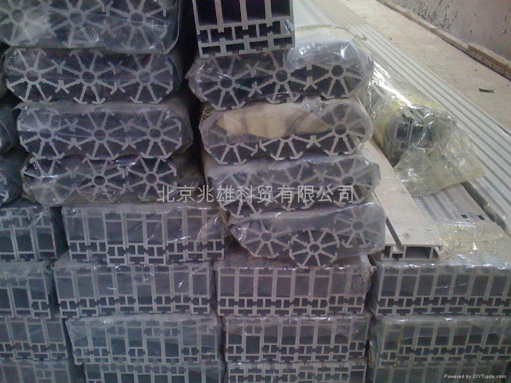 北京鋁型材展覽展示型材 1
