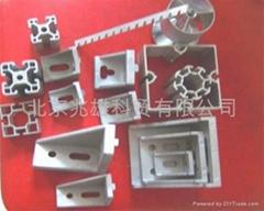 標攤鋁型材廠家八稜柱