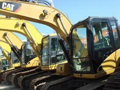 二手卡特312C挖掘机