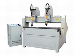 two-head 3D relife CNC Router
