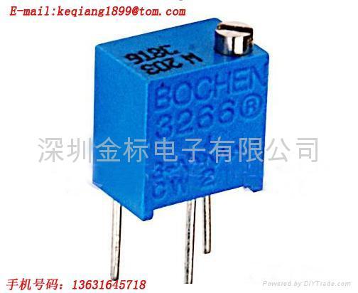 陶瓷玻璃釉精密电位器/可调电阻3266W-103  1