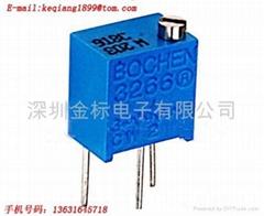 陶瓷玻璃釉精密电位器/可调电阻3266W-103