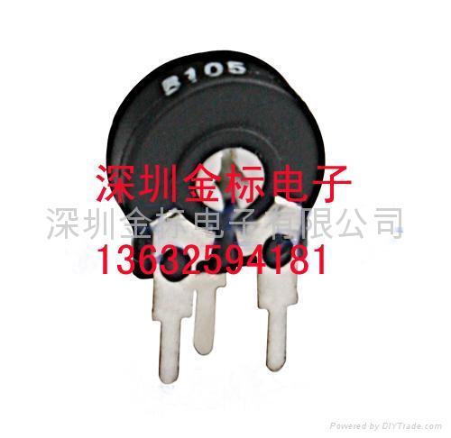 陶瓷玻璃釉精密电位器/可调电阻3266W-103  5