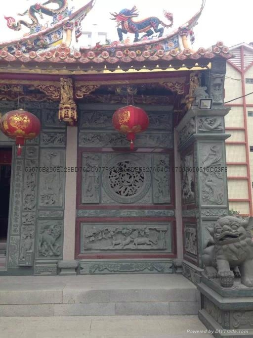 漳州寺廟門面浮雕 2