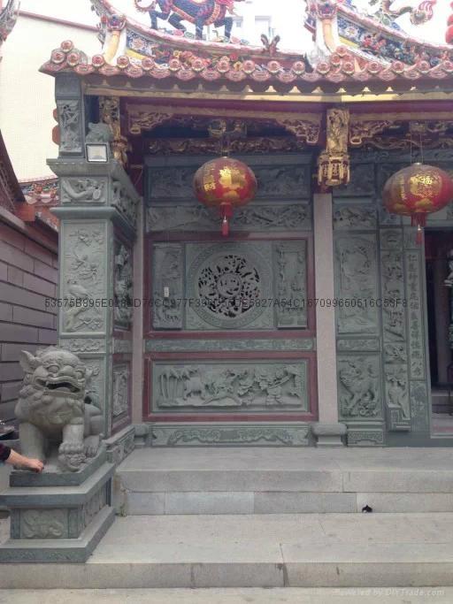 漳州寺廟門面浮雕 3