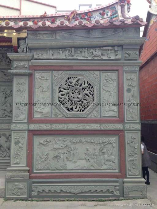 漳州寺廟門面浮雕 5