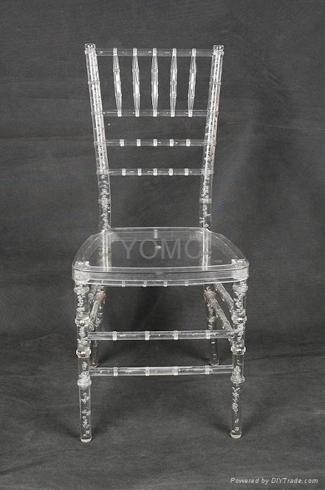 Clear Resin Plastic Chiavari Chair Yomo 006 Yomo