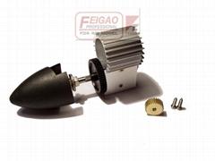 130 gearbox with heatsink