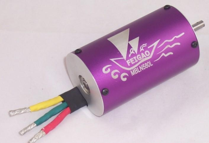 FG-A-580L series brushless sensorless motor