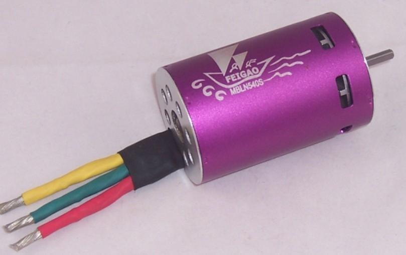 FG-A-540S series brushless sensorless motor 3