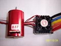 540 sensored brushless system for 1:10