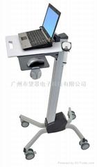 爱格升Neo-Flex机房移动笔记本推车