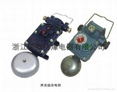 矿用隔爆型声光组合电铃 BAL1-127/36G