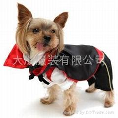 寵物衣服吸血鬼套裝