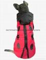 寵物服裝大狗裝立體風衣瓢虫外套