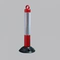反光红白弹力柱