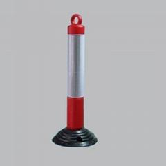 反光紅白彈力柱