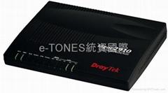 居易DrayTek Vigor2910频宽管理分享器