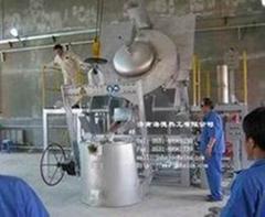 燃油(气)熔化保温坩埚炉