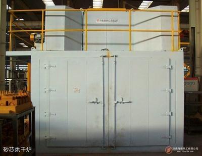 电热台车式型芯烘干炉 1