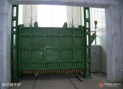 电热台车式型芯烘干炉 2