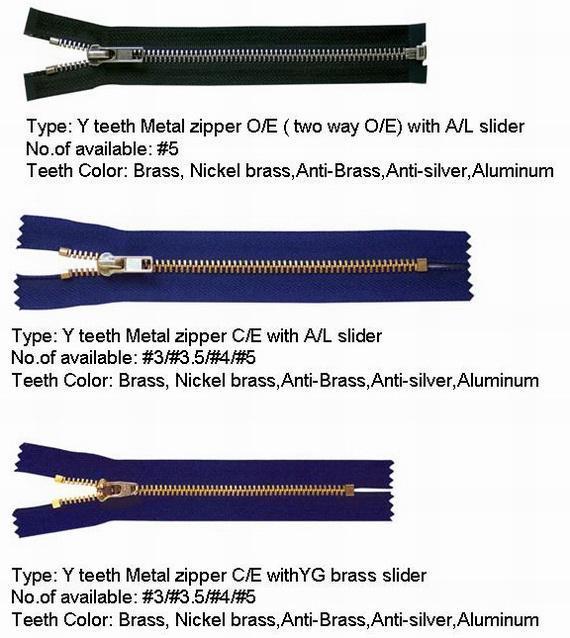 Y teeth zipper 1