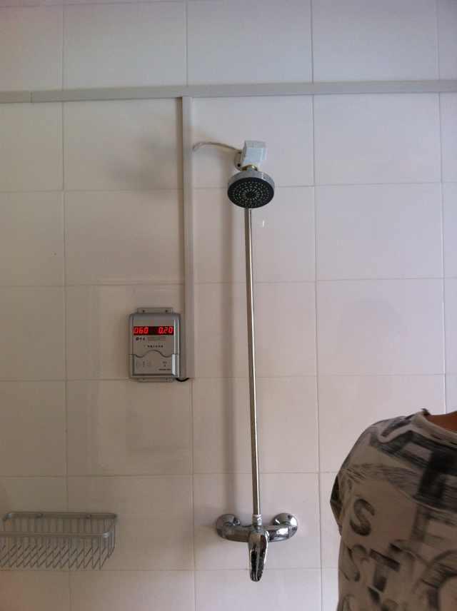 浴室熱水節能設備,智能節水刷卡系統,浴室智能卡管理系統 1