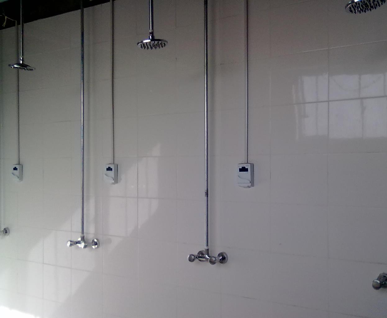 浴室熱水節能設備,智能節水刷卡系統,浴室智能卡管理系統 3