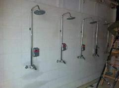 洗澡刷卡节水系统