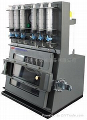 vacuum chamber refilling machine with precise ink refilling volume