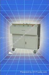 Automatic toner cartridge leakage vacuum tester