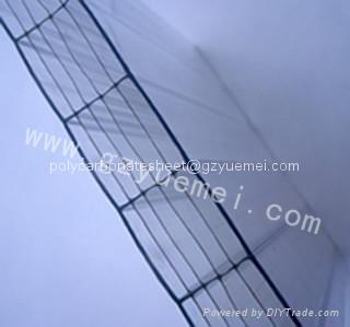 Polycarbonate Six-wall  hollow sheet